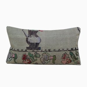 Vintage Needlepoint Tapestry Kilim Pillow Cover from Vintage Pillow Store Contemporary