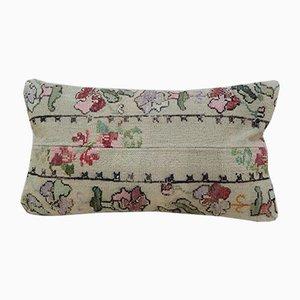Federa Kilim vintage in laminato di Vintage Pillow Store Contemporary