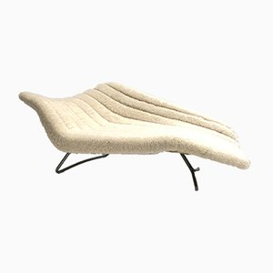 German 5008 Chaise Lounge by Hans Hartl for Eugen Schmidt, 1950s