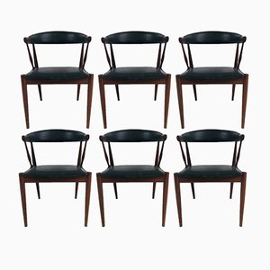 Danish Teak Dining Chairs by Johannes Andersen for Andersen Møbelfabrik, 1963, Set of 6