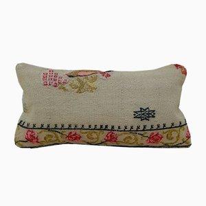 Federa Kilim vintage intrecciata a mano di Vintage Pillow Store Contemporary
