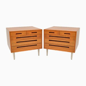 Mahogany Chests of Drawers by Edward Wormley for Dunbar, 1960s, Set of 2
