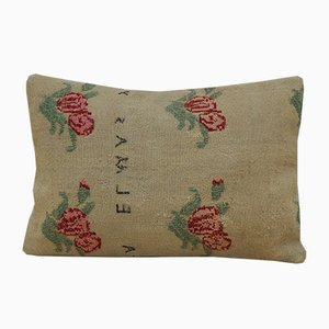 Housse de Coussin Kilim Lumbar Vintage de Vintage Pillow Store Contemporary