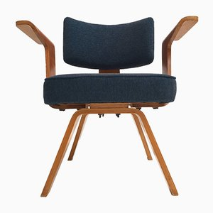 Plywood HF506 Lounge Chairs by Cor Alons for Gouda den Boer, 1950s, Set of 2