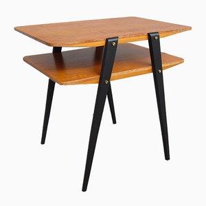 Table d'Appoint Scandinave en Teck, 1950s