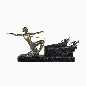 Art Deco French Statue by G. Daverny, 1930s