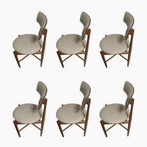 Chaises de Salle à Manger Mid-Century en Teck par Ib Kofod Larsen pour G-Plan, 1960s, Set de 6