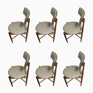 Mid-Century Teak Dining Chairs by Ib Kofod Larsen for G-Plan, 1960s, Set of 6