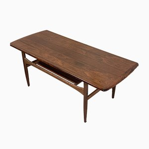 Scandinavian Modern Danish Rosewood Coffee Table, 1960s