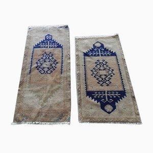 Kleine türkische Teppiche, 1960er, 2er Set