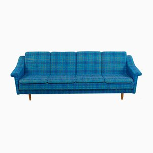 Mid-Century Danish Wool Sofa Bed, 1960s