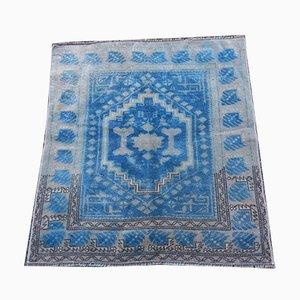 Small Vintage Handmade Oushak Carpet, 1970s