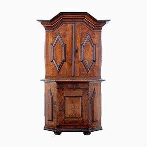 Alacena barroca antigua de madera