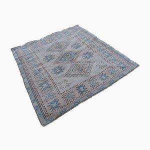 Moderner skandinavischer Teppich aus Baumwolle, 1970er