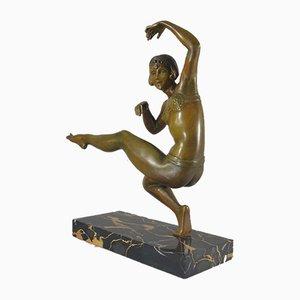 Art Deco Tänzerinfigur von Balleste