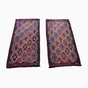 Tapis Kilim Vintage, Turquie, 1970s, Set de 2