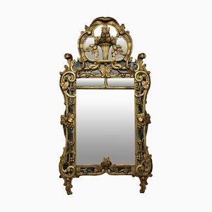 Antiker provenzalischer französischer Spiegel, 1800er