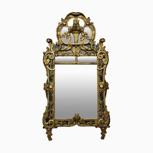 Antique French Provencal Mirror, 1800s