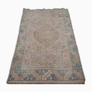 Tappeto geometrico vintage in lana, anni '70