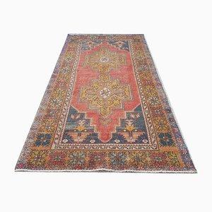 Vintage Teppich aus Baumwolle, 1970er