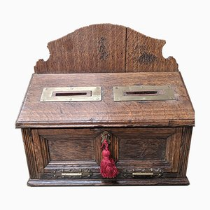 Antique Country House Letter Box, 1880s