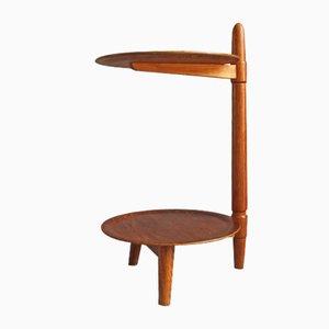Table d'Appoint Vintage en Teck par Edmund Jørgensen, Danemark