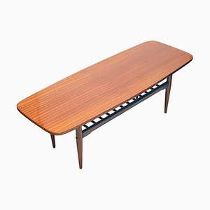 Scandinavian Modern Dachshund Coffee Table, 1970s