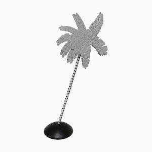 Italienische Caribe Tischlampe aus Metall von Ettore Sottsass für Targetti, 1970er