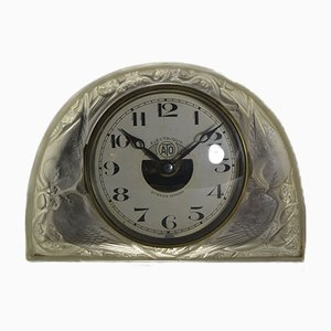 Moineaux Clock by René Lalique for ATO, 1924