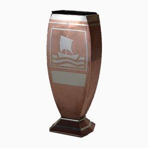 Vase von Luc Lanel für Christofle, 1920er