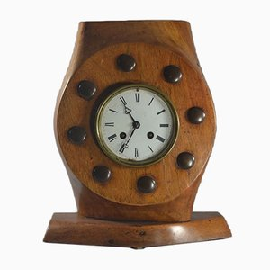 Early WWI Hispano Suiza Plane Propeller Clock from Wolseley Motors, 1920s