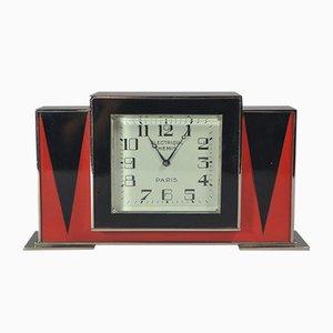 Horloge Laquée par Jean Dunand pour Paul Brandt, 1930s