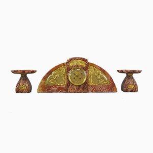 Art Deco Uhr von Mourat