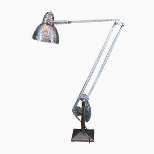 Industrielle Tischlampe mit Gegengewicht von Erpe, 1940er