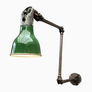 Industrial Cast Iron Wall Lamp from Mek Elek, 1930s