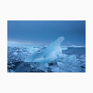 Iceberg Blue Print by Tim Graham