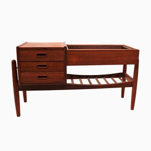 Small Mid-Century Danish Teak Sideboard by Arne Vodder, 1960s