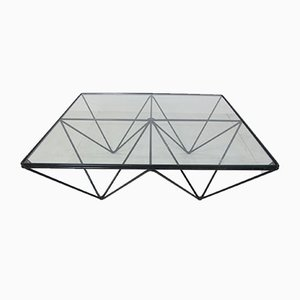Industrial Italian Coffee Table by Paolo Piva, 1980s