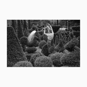 Watering At Kew Druck von Kurt Hutton