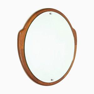 Specchio Mid-Century in teak, anni '60