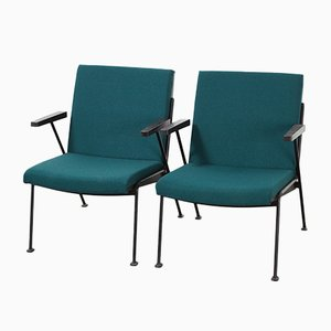 Oase Lounge Chairs by Wim Rietveld for Ahrend De Cirkel, 1960s, Set of 2