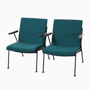 Oase Sessel von Wim Rietveld für Ahrend De Cirkel, 1960er, 2er Set