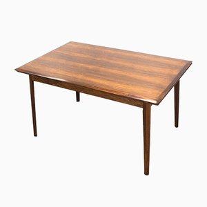 Mesa de comedor extensible danesa de palisandro de ES Møbler, años 60