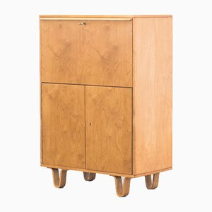 Birch CB07 Secretary Cupboard by Cees Braakman for Pastoe, 1950s