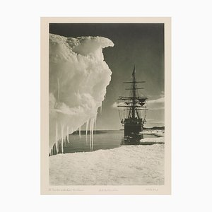 The British Antarctic Expedition Print by Herbert George Ponting