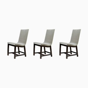 Typenko Chairs by Axel Einar Hjorth for Nordiska Kompaniet, 1944, Set of 3