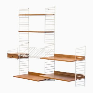 String Wall Unit by Kajsa & Nils Strinning for String, 1960s