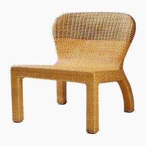 Chaise PS en Jonc par Thomas Sandell pour Ikea, 2001