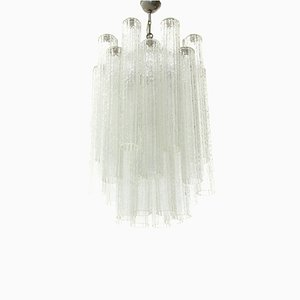 Tronchi Murano Glass Chandelier, 1960s