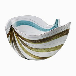 Swedish Bowl by Stig Lindberg for Gustavsberg, 1950s